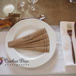 décoration de table mariage menu original CF Photographe
