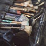 préparatifs pinceaux maquillage CF Photographe