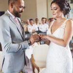 cérémonie mariage à la mairie alliances CF Photographe