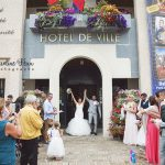 mariage sortie de la mairie Ballan-Miré CF Photographe