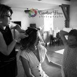 la mariée et sa fille préparatif mariage CF Photographe