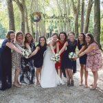 équipe de la mariée photos de groupe mariage 37 CF Photographe