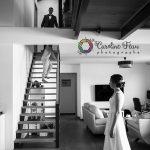 les mariés se découvrent mariage Indre et Loire 37 CF Photographe