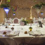 Table des mariés salle de réception Les Ducs de Richelieu CF Photographe