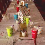 table des enfants salle de réception Les Ducs de Richelieu 37 CF Photographe