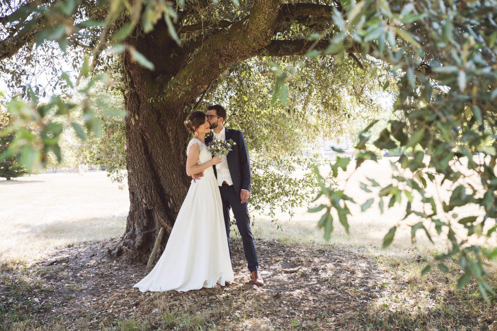 Caroline Féau Photographe de mariage au Domaine de la Bergerie 37