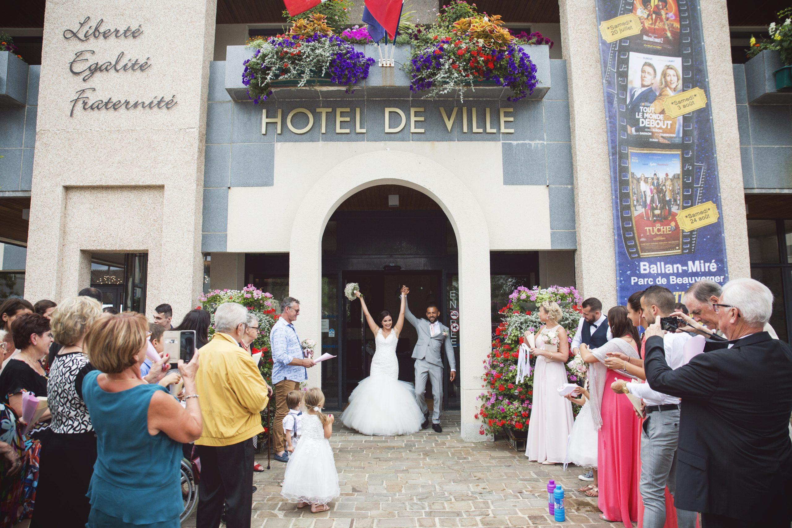 photographe de mariage à Ballan Miré Caroline Féau Photographe