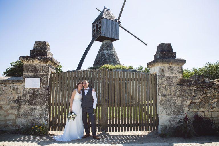 Virginie et Vincent, mariage aux Ducs de Richelieu